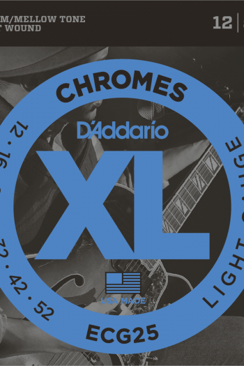d'addario chromes ecg25 filet plat 12-52