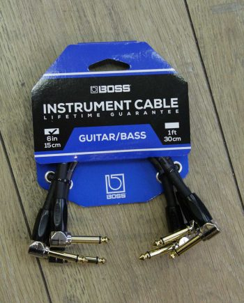 boss cable patch 15 cm coude-coude 3 X pack