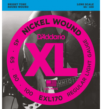 d'addario bass exl170 regular light 45-100
