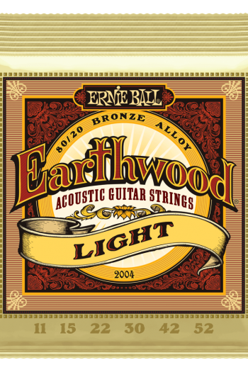 ernie ball 2004 earthwood light 11-52