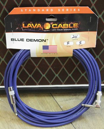lava cable blue demon 6m droit coude