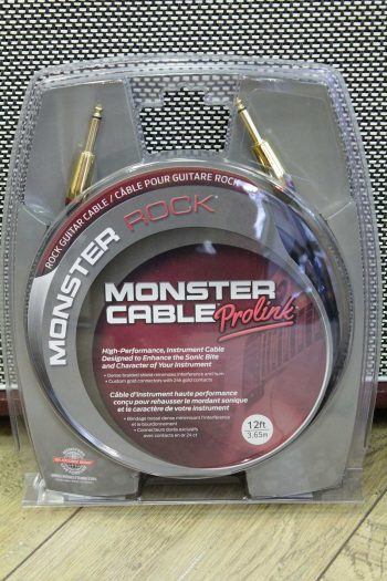 monster cable rock2-12 3m65 droit droit