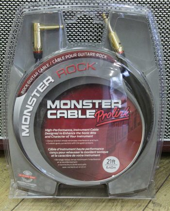 monster cable rock2-12a 3m65 droit coude