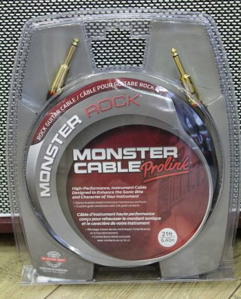 monster cable rock2-21 6m40 droit droit