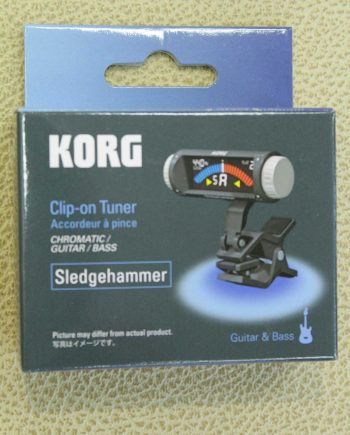 korg sledgehammer accordeur chromatique