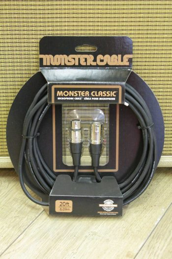 monster cable xlr 9m clas-m-30